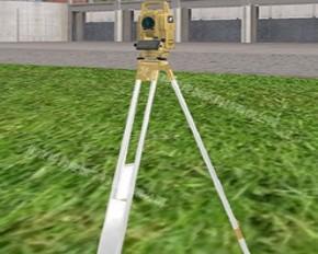 工程测量虚拟教学实验平台